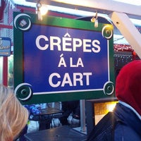 Photo taken at Crepes a la Cart by Colin B. on 2/20/2013