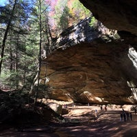 Photo taken at Ash Cave by Cynthia D. on 10/26/2014