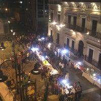 Photo taken at Plaza Bicentenario by  Luis ENRIQUE M. on 3/25/2013