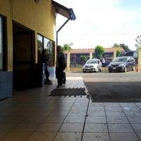 Photo taken at Terminal Buses Bio Bio Victoria by Valeria T. on 11/15/2012