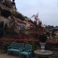 Photo taken at Ledeburská zahrada | Ladeburg Garden by Martin L. on 10/29/2014