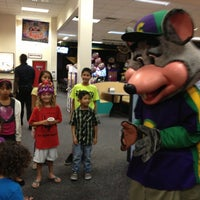 Photo taken at Chuck E. Cheese's by Eva A. on 10/31/2012