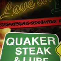 Photo taken at Quaker Steak & Lube® by Chris H. on 3/3/2013