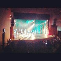 Photo taken at Teatro Municipal de Itajaí by Bernardo S. on 12/15/2012