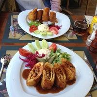 Photo taken at Melisa Cafe & Bistro by Özge D. on 9/15/2013