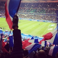 Photo taken at Stade de France by MacK⚽️NS🍄 on 11/19/2013