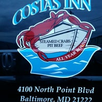 Photo taken at Costas Inn by John F. on 7/20/2014