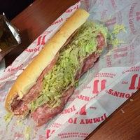 Photo taken at Jimmy John's by Steven on 11/22/2013