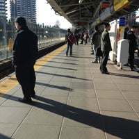 Photo taken at Lougheed Town Centre SkyTrain Station by Christina B. on 3/29/2013