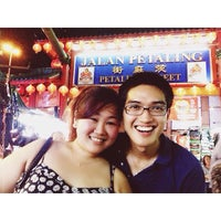 Photo taken at Petaling Street by Trina A. on 3/1/2014