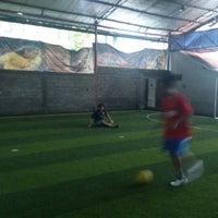 Photo taken at YPKP Indoor Soccer Center by Rizky Maulana N. on 6/8/2013