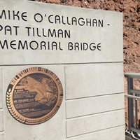Photo taken at Mike O'Callaghan-Pat Tillman Memorial Bridge by Hasani H. on 2/25/2013
