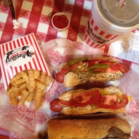 Photo taken at Portillo's by Amy M. on 5/7/2013