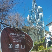 Photo taken at 金峰山山頂 by yuki on 3/21/2016