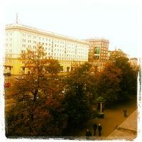 Photo taken at Aleja Jana Pawła II by Tolga Ö. on 10/23/2013