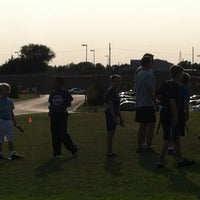 Photo taken at Papillion - La Vista South High School by Shawn B. on 8/16/2012