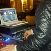 Photo taken at Plunge Rooftop Bar & Lounge by Sterling V. on 1/7/2012