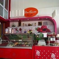 Photo taken at siam gelato ice-cream by Piyamaporn S. on 8/13/2012