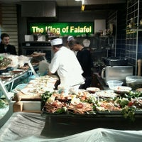 Photo taken at The King Of Falafel by Gavin D. on 2/15/2011