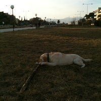 Photo taken at Αττικό Πάρκο Βριλησσίων-Χαλανδρίου by Akis D. on 3/13/2011