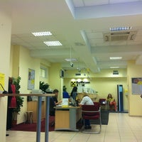 Photo taken at Raiffeisenbank by Nadechka ². on 7/12/2012