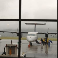 Photo taken at Elmira / Corning Regional Airport (ELM) by Kathy C. on 6/4/2012
