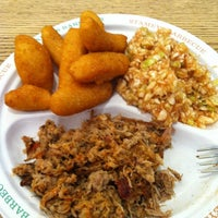Photo taken at Stamey's Old Fashioned Barbecue by Kraig L. on 6/19/2012