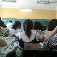 Photo taken at Phuong Nam High School by Minh Phương T. on 9/24/2011
