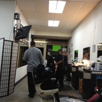 Photo taken at Bob's Canyon Country Barber Shop by Cali S. on 2/22/2012