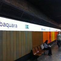 Photo taken at Estação Jabaquara (Metrô) by Carlos Alberto R. on 6/14/2011