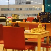 Photo taken at Entressen kirjasto by Abde H. on 1/16/2012