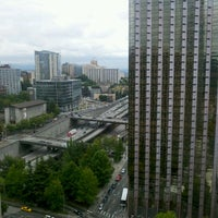 Photo taken at Hilton Seattle by Gregg N. on 9/15/2011