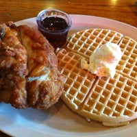 Photo taken at Roscoe's House of Chicken and Waffles by Matt A. on 4/26/2012