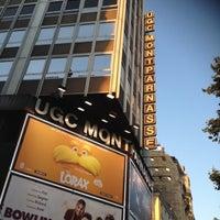 Photo taken at UGC Montparnasse by Nona D. on 7/24/2012