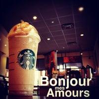 Photo taken at Starbucks by [t] m. on 1/29/2012