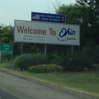 Photo taken at Ohio / Indiana - State Line by Richard P. on 6/16/2012