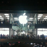 Photo taken at Apple by Mike V. on 10/1/2011