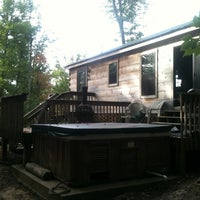 Photo taken at Little Moose Cabin by Mike B. on 9/30/2011