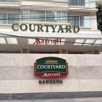 Photo taken at Courtyard by Marriott Bangkok by KGB S. on 8/1/2012