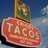 Photo taken at Chico's Tacos by Frankie F. on 8/8/2011