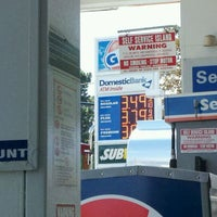 Photo taken at Gulf Gas Station by Sal M. on 9/19/2011