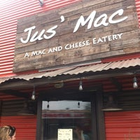 Photo taken at Jus' Mac by Chas H. on 12/31/2011