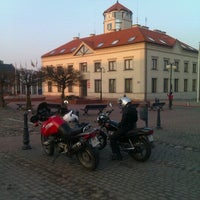 Photo taken at Rynek w Serocku by Marek S. on 3/17/2012