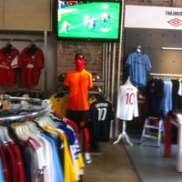 Photo taken at Upper 90 Soccer Store by Rye R. on 8/11/2012