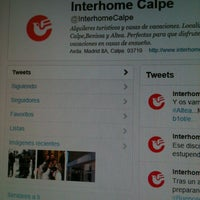Photo taken at Interhome Calpe by Ih M. on 3/28/2012