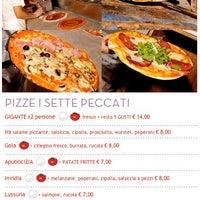 Photo taken at I Sette Peccati by Da Tito R. on 1/13/2012