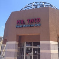 Photo taken at Mr Taco : Fresh Mexican Grill by Ryan B. on 7/3/2012