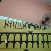 Photo taken at Sinuca da Lapa by Andre L. on 6/23/2012