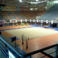 Photo taken at Complejo Panamericano de Voleibol by Luis O. on 5/9/2012