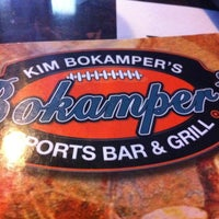 Photo taken at Bokamper's Sports Bar & Grill by Jane R. on 4/27/2012